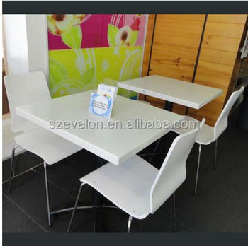 Acrylic Solid Surface Table Wall Mounted Dining Coffee Soid Restaurant Mount Folding