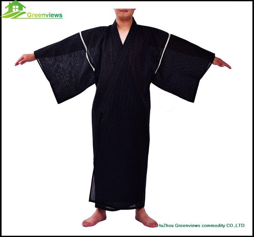 style japonais hommes kimonos robes hommes pyjamas pas cher kimono peignoir pyjamas robe de. Black Bedroom Furniture Sets. Home Design Ideas