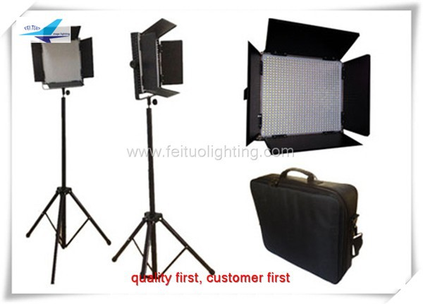 Estudio de fotografía profesional de equipos 896 unids 5mm de vídeo led panel light