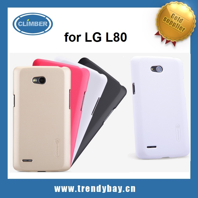 Newest Nillkin brand super frosted shield series cover case for lg L80 D380
