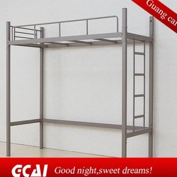 college modern design metal bedroom furniture cheap bunk bed desk set bed desk set