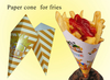 fried food potato chips paper packaging bags