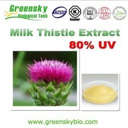 Milk thistle extract, water soluble silymarin, 80% Silymarins