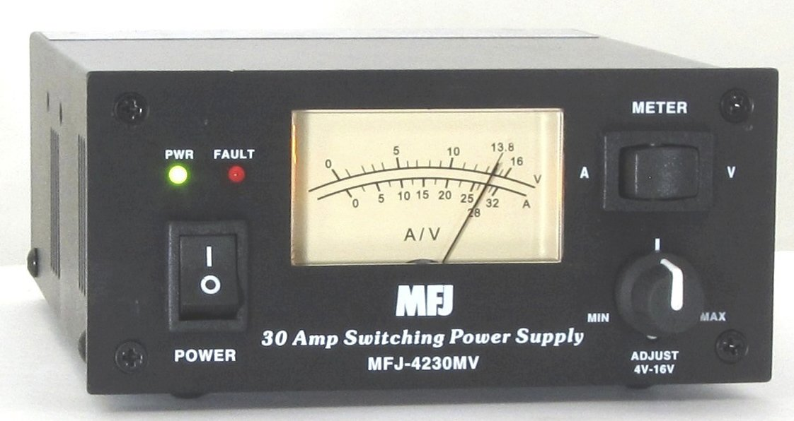 MFJ-4275MV MFJ-4275 Original MFJ Enterprises Switching Power Supply 13.8V 75A Meters