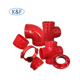 90 degree Ductile Iron Grooved Pipe Fittings Elbow or Bends elbow pipe bend pipe joint