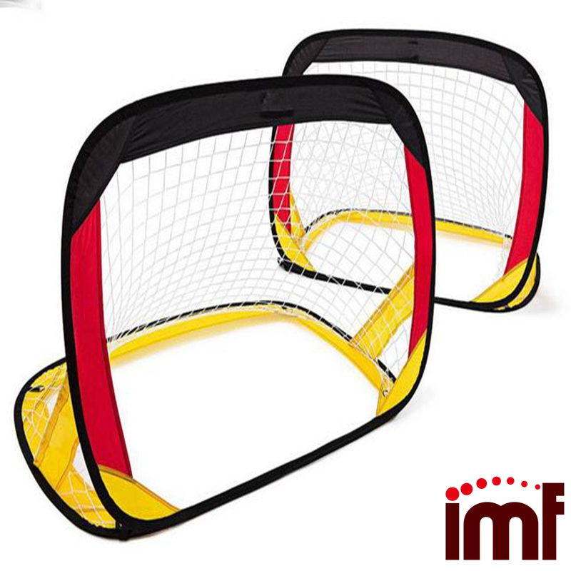 Children Kids Foldable Portable Football Training Target Net Soccer Goal