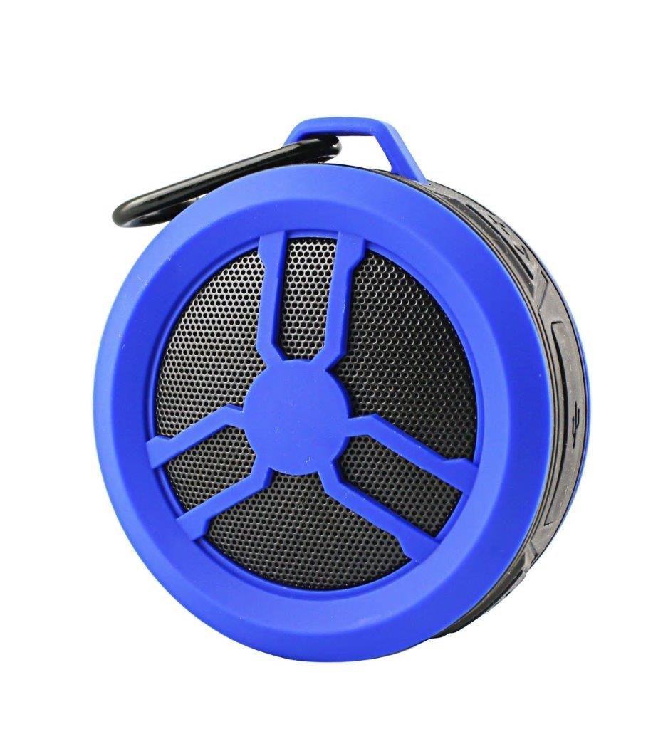 Portable Water Proof Wireless Speaker for BLU Vivo XL, Vivo 5, Vivo 6, Pure XR, Life One X3, Dash L4 LTE,R2 Plus, Grand 5.5 HD II, Vivo 8L (Blue)