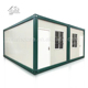China low cost 20ft portable fast assembly container house port cabin