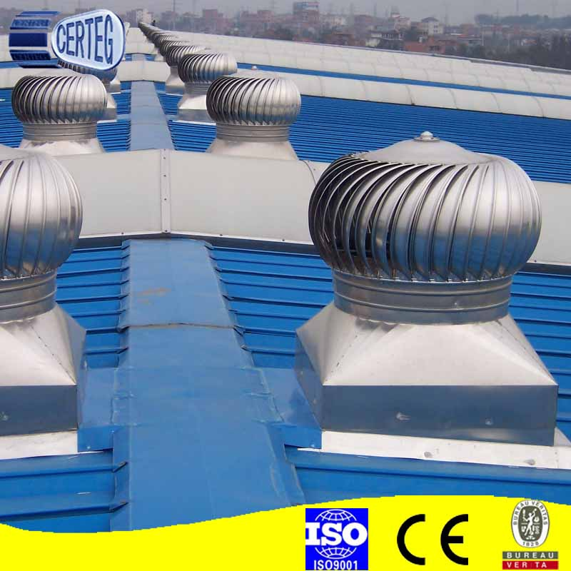 Rooftop Wind Turbines Ventilator : Ventilator roof dc generator installation in the