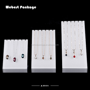 Webest new products acrylic jewellery acrylic shapes acrylic body jewelry display for jewellery