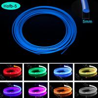 Anti-uv Jacket 2.5mm Plastic Core Side Light Fiber Optic Cable ...
