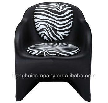 Black color classic waiting chairs for hair salon /Beauty salon waiting chair H-D020B