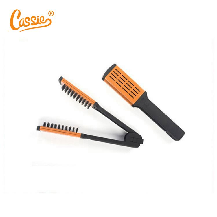 Professional hot selling hair straightener brush for long hair