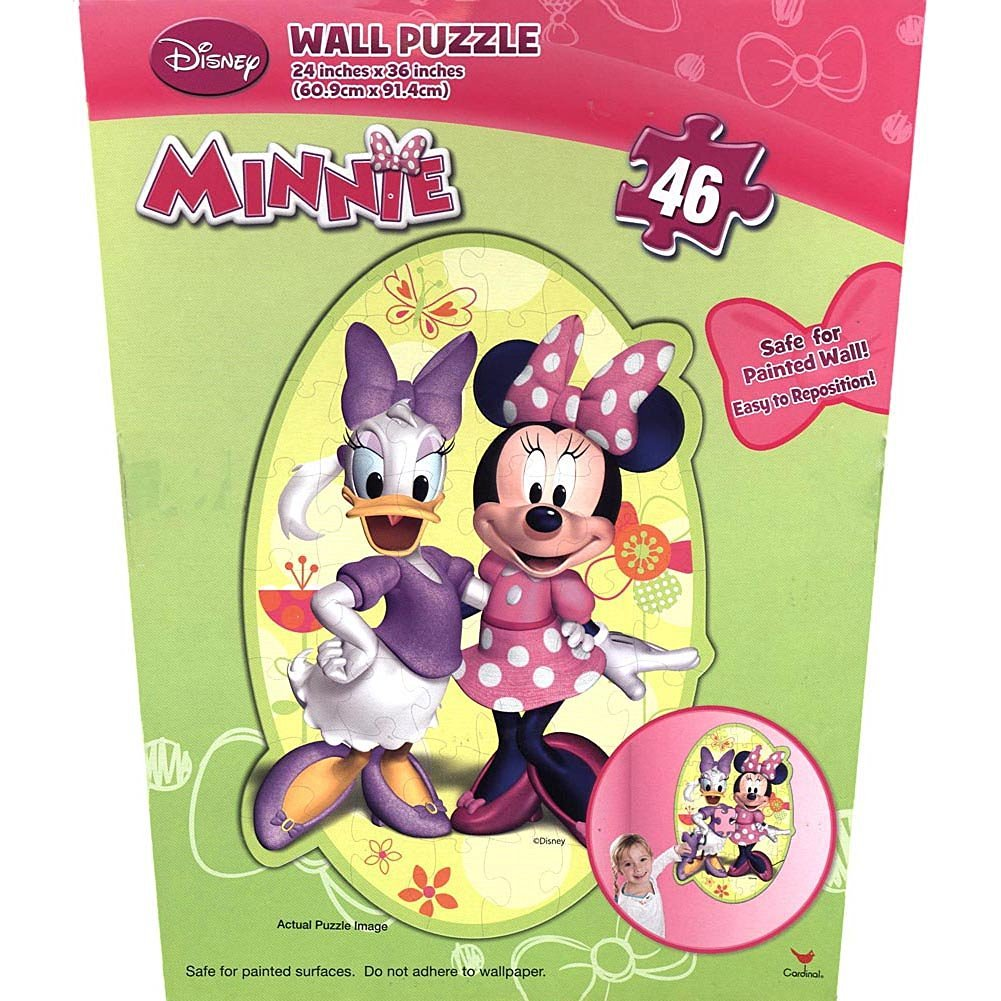 Buy By Broward Toys Disney Minnie Mouse Bow Tique Wall Puzzle 46