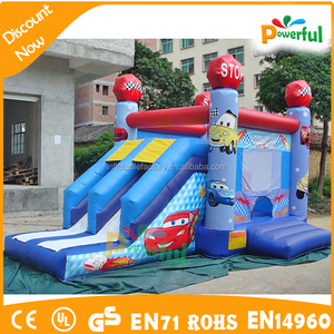 Sea world theme inflatable bouncer for kids/small inflatable bouncer with slide/inflatable slide bouncer