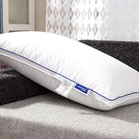 Premium white goose down hotel pillows