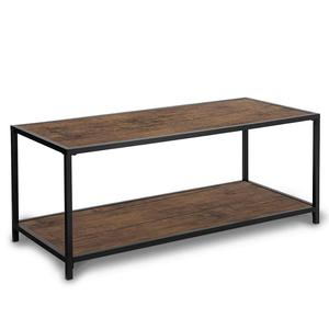 Modern Studio Collection Deluxe Rectangular Coffee Table, Espresso