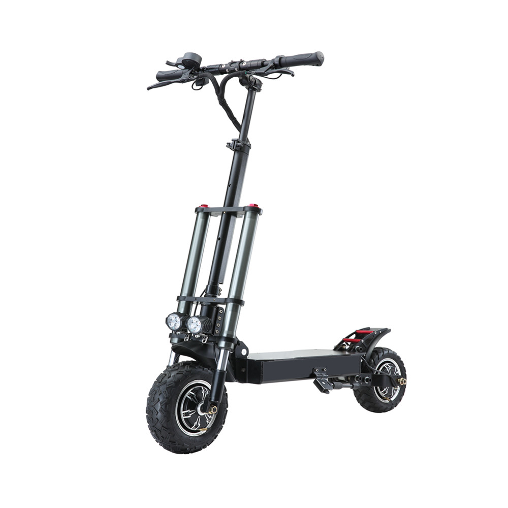60v 3200w 11 Inch High speed Power e scooters foldable adults Led Light Campaign Electric Scooter, Black for big powerful electric scooter