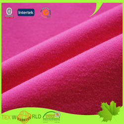 elastic knitted stretch single jersey fabric for yoga leggings