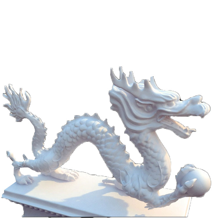 Large Chinese Stone Dragon Garden Statue Product On