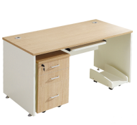 High quality Eco-friendly Material computer desk widely used in office with modern fashion style