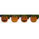 non-woven felt party decoration pumpkin ornaments for Halloween