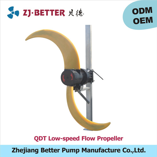 QDT low-speed flow propeller /low-speed submersible water pump