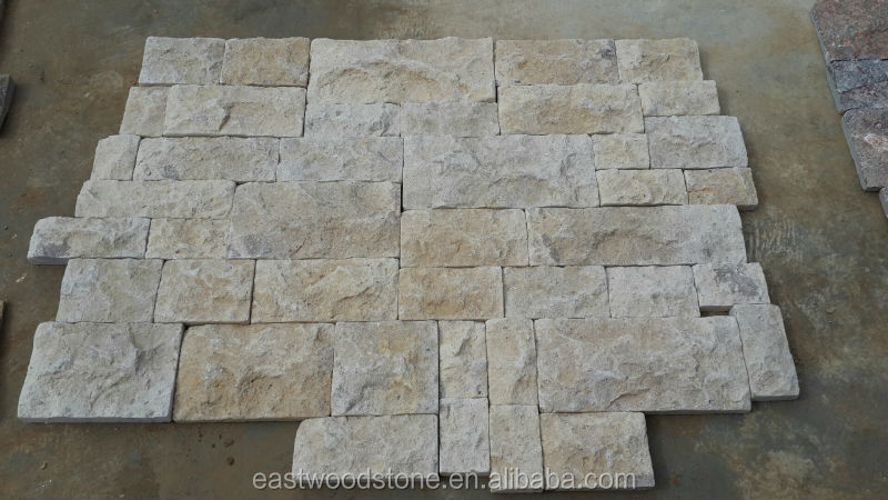 New Sandstone Cuoture Stone, Yellow Sandstone Wall Pving, Crazy Paving Stone flagstone paver