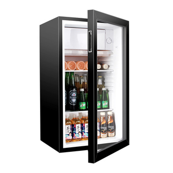 Small Energy Drink Under Counter Led Display Glass Door Mini Beer