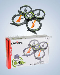 2.4G 4CH 4-Axis RC UFO with Gyro,RC Flying mini UFO Toys