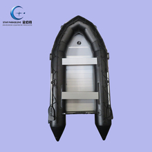 cheap inflatable fishing boat with outboard motor rubber boat speed aluminum floor heavy duty Inflatable boat for sale pontoon