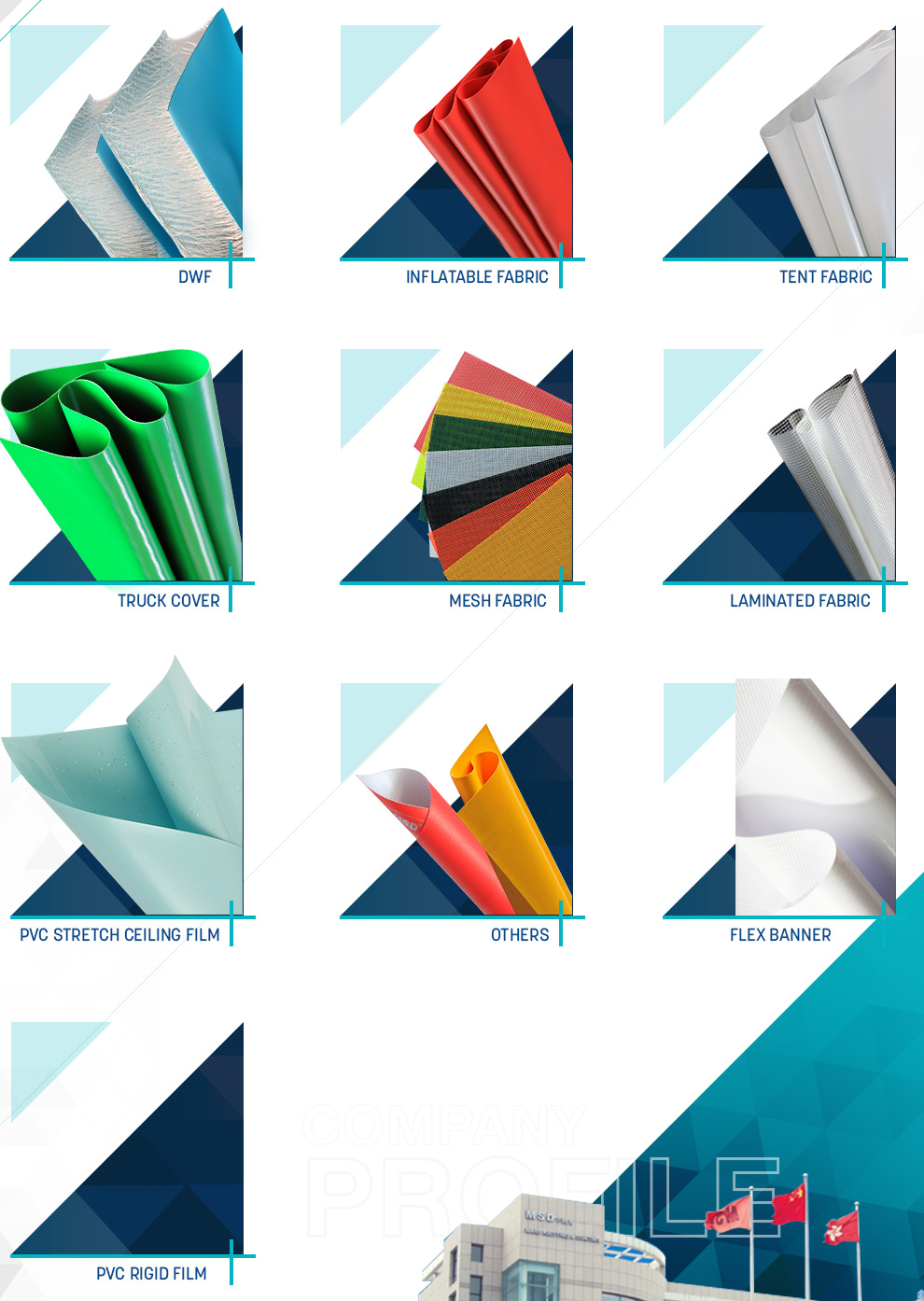 Zhejiang Msd New Material Co Ltd Pvc Stretch Ceiling Film Pvc