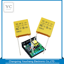 0.33uf 275vac X2 MKP interference suppression film capacitor