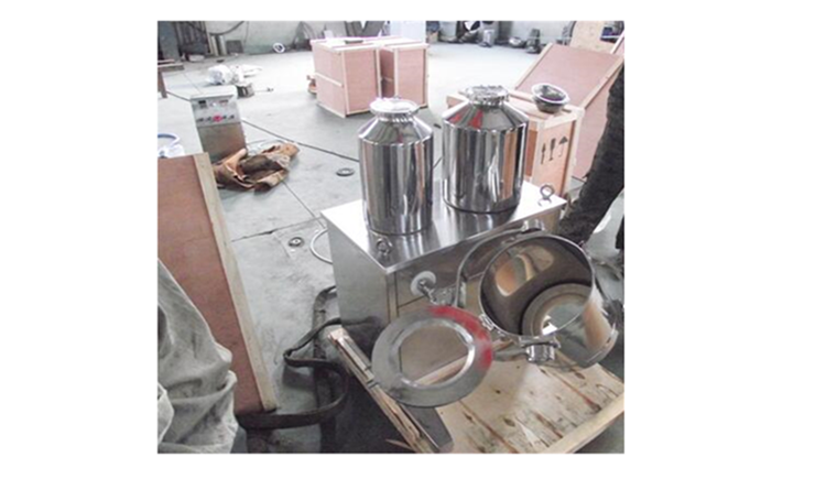 Automatic Three-dimensional Powder Mixer Dry Powder Mixing Machine with Uniform Easy Operation
