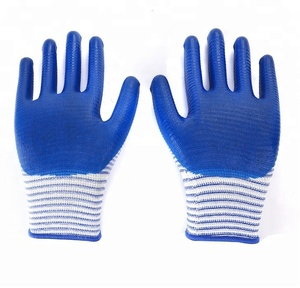 Heavy Duty antiskid nylon micro-foam nitrile grip gloves manufacturers