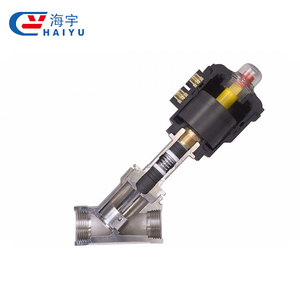 Ss304 Stainless Steel Sanitary Clamp End Food Grade Angle Seat Ball Valve