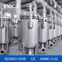 Professional supply INOCO stainless steel bag filter for water treatment
