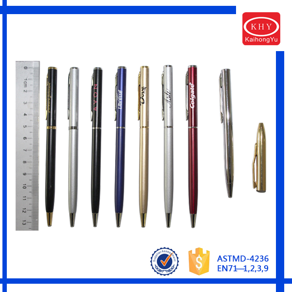 Top Quality OEM Private Lable Brand Aluminum Metal Ball Pen