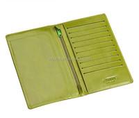 wholesale leather ladies passport wallet women passport and ticket holder