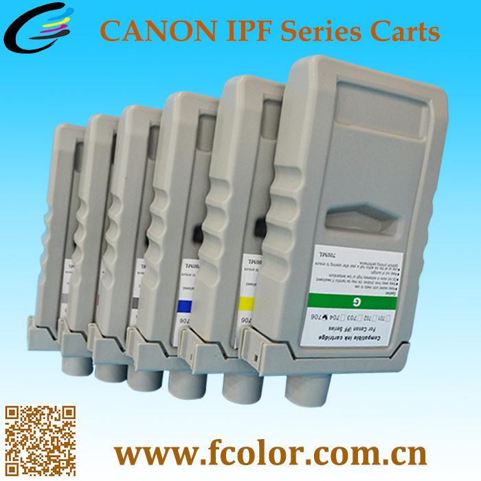 Printing Compatible PFI 702 Ink Cartridges For IPF 8100 IPF9100 IPF8110 IPF9110 Printer