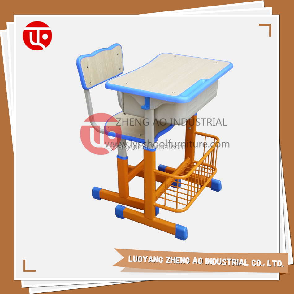 Factory price high quality plywood modern school furniture single table and chair