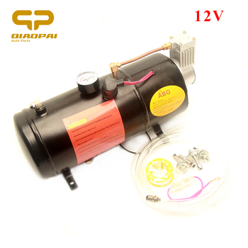 Air Horn Compressor >> 1pc Super Loud Trumpet Air Horn Compressor 12v 3 Liter Horn System Sound Siren Pressure 150 Psi For Truck Car Vehicle Auto Horns Buy Air Horn