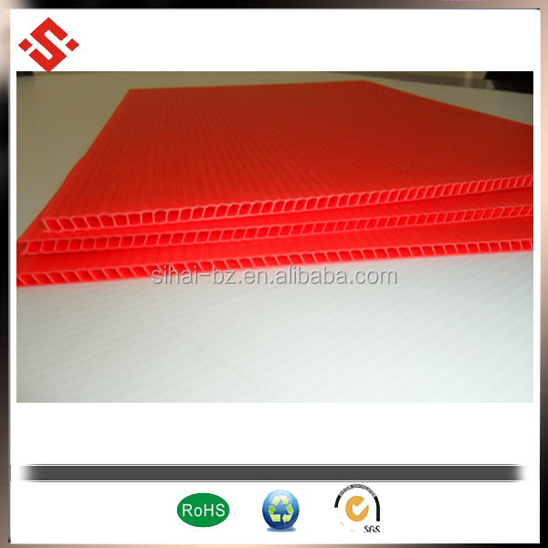pp corrugated 4x8 sheet plastic
