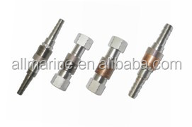 Gas Quick Coupling, Brass, Chrome-plated material, Gas oil coupler