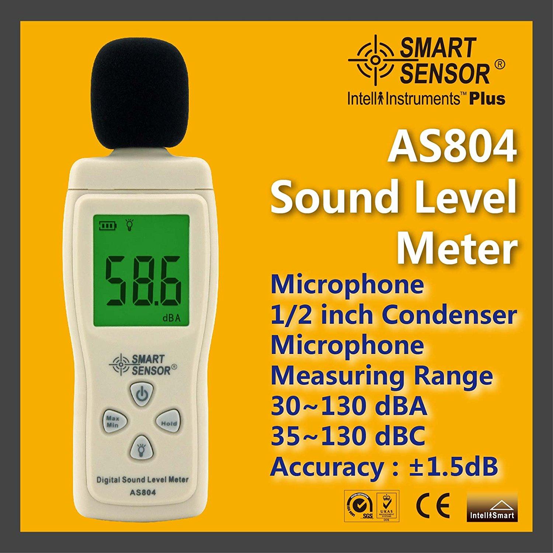 Mini Type Digital Sound Level Meter AS804
