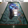 3D Epoxy Resin ahd Hardener for Concrete and Cement Flooring Pait and Coating