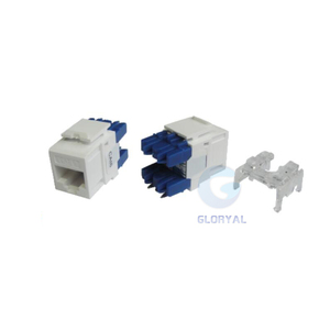 Leviton type cat6 180 degree RJ45 Keystone Jack