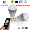 Multi-Color E27 Led Bulb Light With Remote Rgb Led Bulb Light Blustooth Smart Wifi Led Lighting Bulb