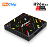Distributor H96 max H2 RK3328 4G+64G Quad-Core Android tv Box LED Display Screen