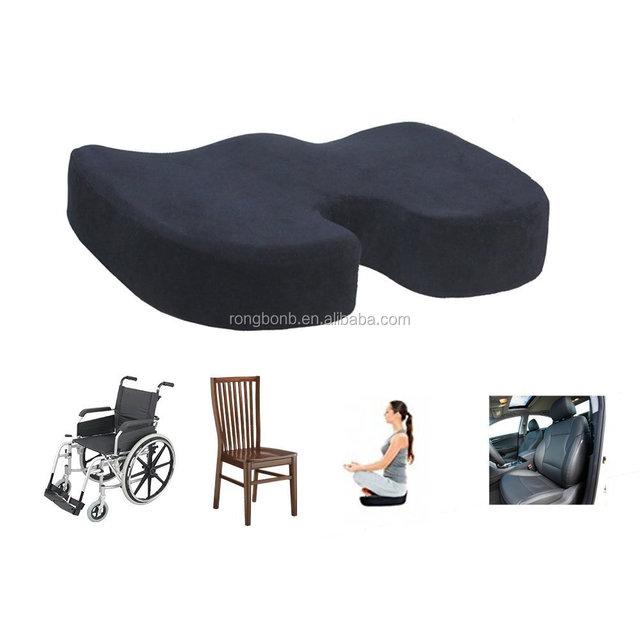 Hot Sale U Shape Memory Foam Slow Rebound Chair Pillow,orthopedic Soft Foam  Seat